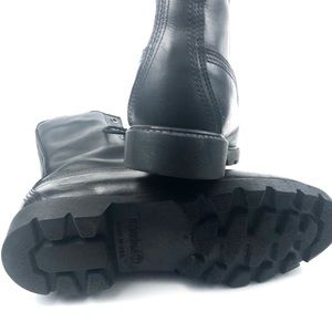 "Timberland Shoes - Timberland  Basic 8"" Waterproof Black Leather Boot"